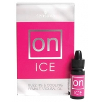 Жидкий вибратор возбуждающе масло Sensuva - ON Arousal Oil for Her Ice