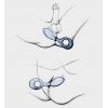 Анатомический вибратор для обоих партнёров Gpop GVibe