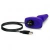 Анальная вибропробка с дистанционным управлением B-Vibe Trio Remote Control Plug