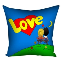 Подушка с принтом 40х40 см Love... 4P_PW080