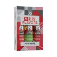 Подарочный набор System JO Limited Edition Tri-Me Triple Pack - Flavors 3 х 30 мл